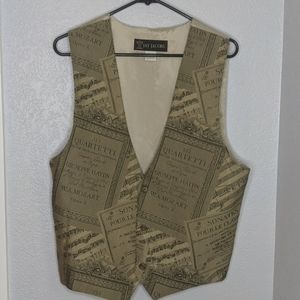 Vintage Jay Jacobs classic fit waistcoat suit vest